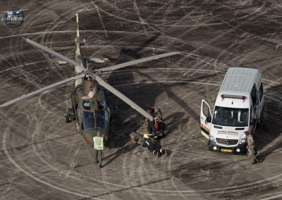 Heli Tractor and 15th Squadron
